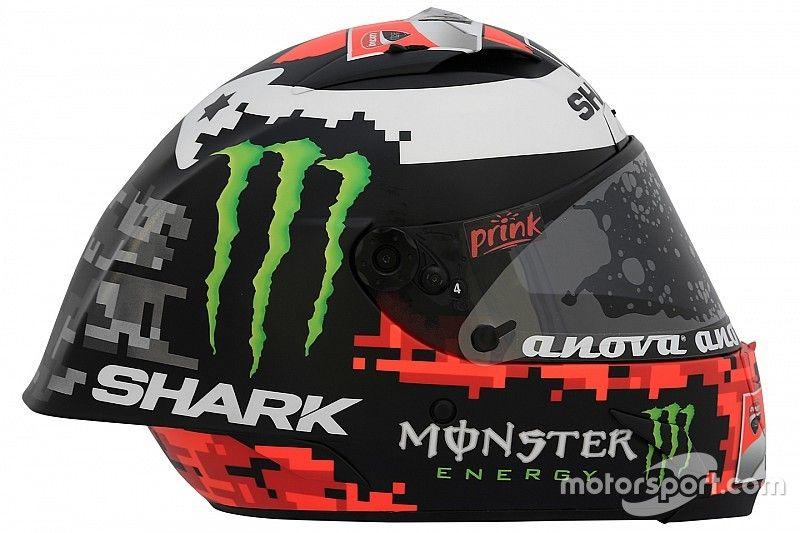 GALERIA: O capacete de Lorenzo para 2018