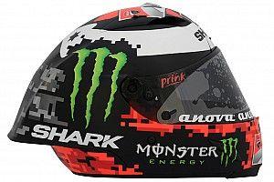 Лоренсо обновил раскраску шлема