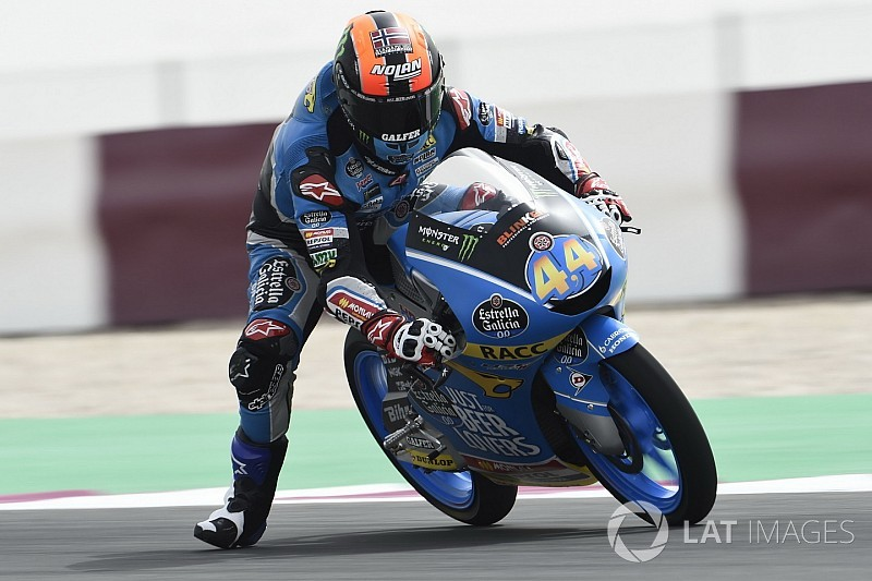 Moto3 Qatar: Canet aan kop in de laatste oefensessie