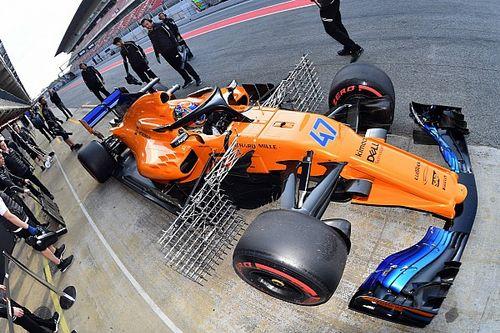 Képzuhatag az F1-es teszt utolsó napjáról Barcelonából