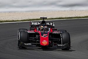 FIA F2 Gara Jack Aitken rompe il ghiaccio nella Sprint Race di Barcellona