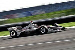Power mantuvo el liderato en la segunda práctica en Indianápolis