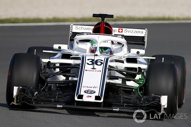 Giovinazzi: Uzun bir aradan sonra F1 aracı sürmek harika