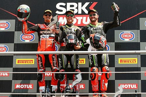 Imola WSBK: Rea draws level with Fogarty's win tally