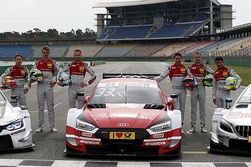 L'Audi non cambia: al via del DTM 2019 con gli stessi sei piloti ufficiali del 2018
