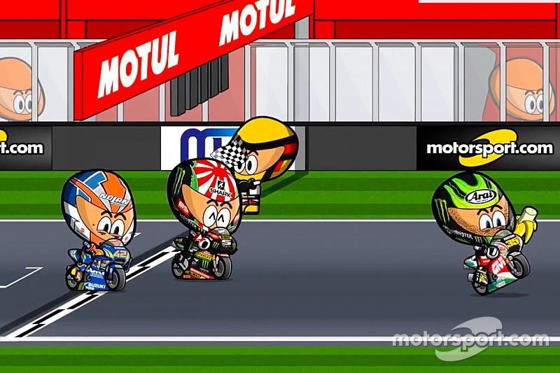 Vídeo: el GP de Argentina 2018 de MotoGP, por 'MiniBikers'