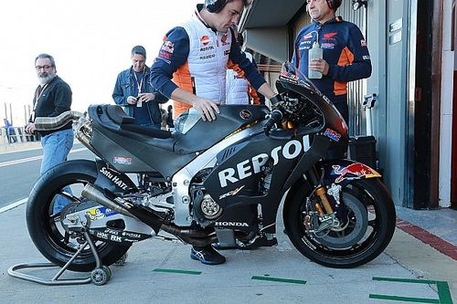 "Marquez strong in Valencia test ""for the first time"""