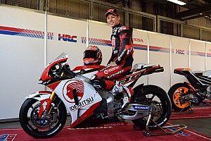 来季MotoGPデビューの中上貴晶、愛機のカラーリングが初公開