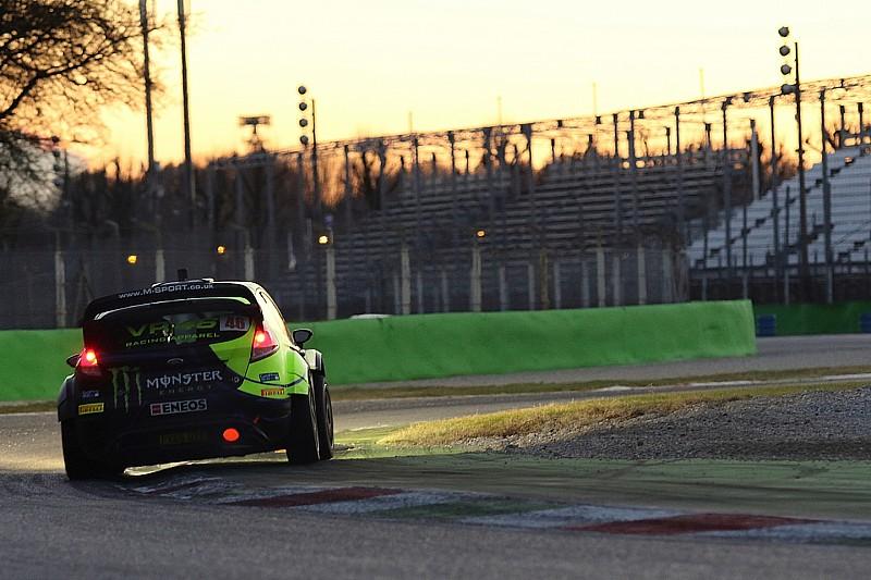 Rossi asalta el liderato del Monza Rally Show por solo una décima