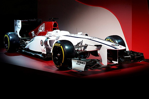 Sauber onthult concept livery met Alfa Romeo