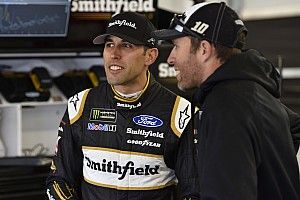 """Aric Almirola: """"I'm having the time of my life"""" at SHR"""