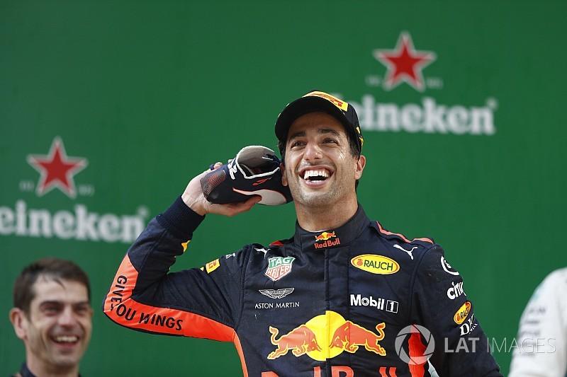 Ricciardo, du cœur brisé à la folie de la victoire