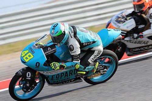 Moto3 Austin: Dalla Porta snelste in laatste training