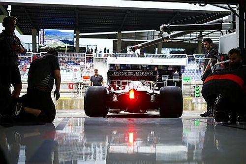 Haas multata lo stesso anche se Magnussen ha fermato immediatamente la macchina