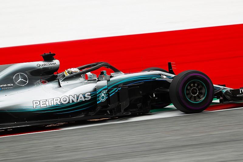 A második edzést is Hamilton nyerte a Mercedesszel az Osztrák Nagydíjon