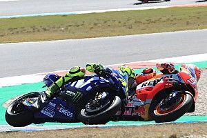 """Rossi: """"El adelantamiento de Dovizioso no fue muy inteligente"""""""