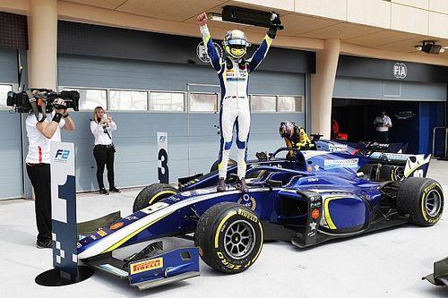 Lando Norris gana su primera carrera en F2