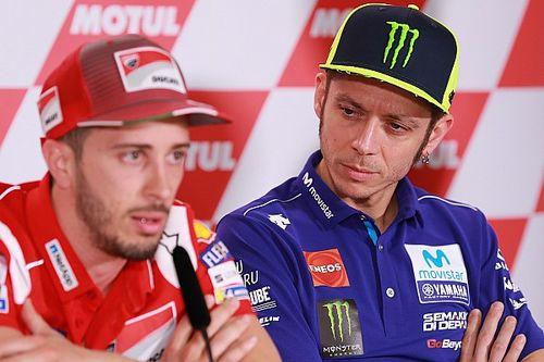 Rossi no le ve sentido que Dovi salga de Ducati