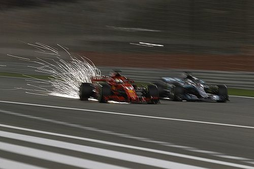 Fotogallery: il trionfo della Ferrari e di Vettel nel GP del Bahrain