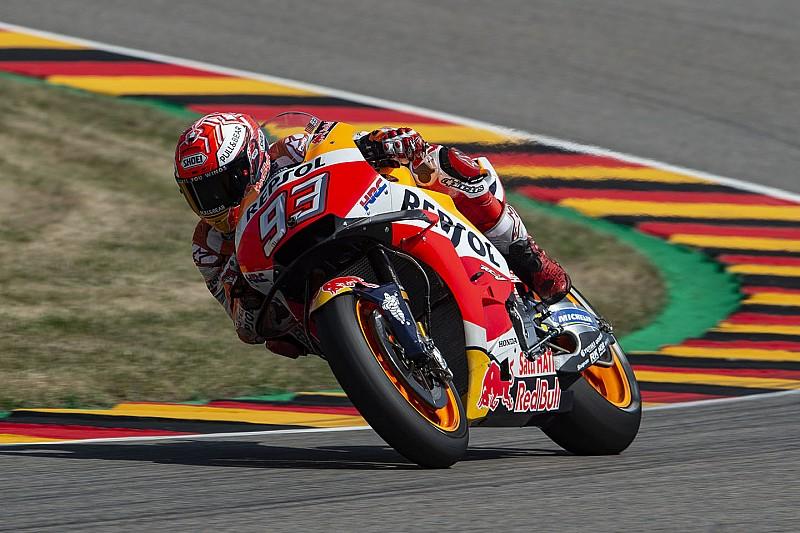 Маркес выиграл девятую гонку на «Заксенринге» подряд