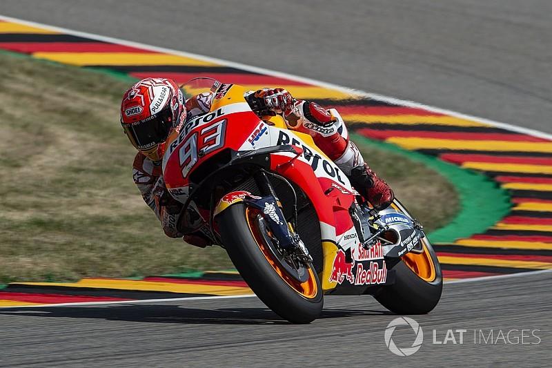Sûr de ses forces, Márquez s'est concentré sur son rythme de course