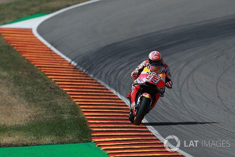 Marquez: Honda, Sachsenring'de performans kaybetti