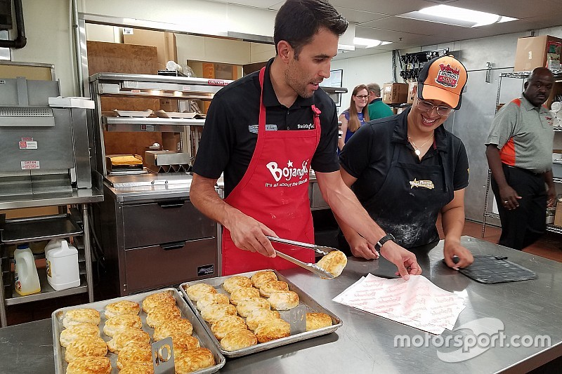 """Rejuvenated"" Almirola makes biscuits as he prepares for Darlington"