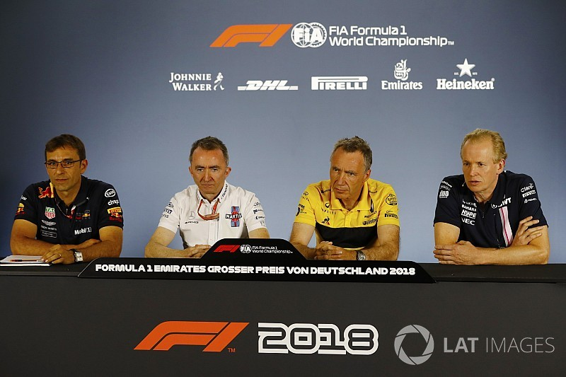 German GP: Friday's press conference