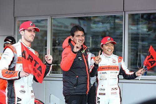 富士得意のARTA BMW、大差で完勝。高木真一はGT300最多勝記録を更新