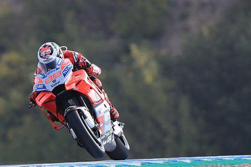 """""""Très content"""" des nouveautés de sa Ducati, Lorenzo frôle la 1re ligne"""