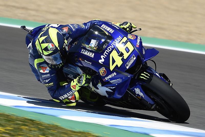 MotoGP Barcelona: Rossi-Bestzeit im ersten Training