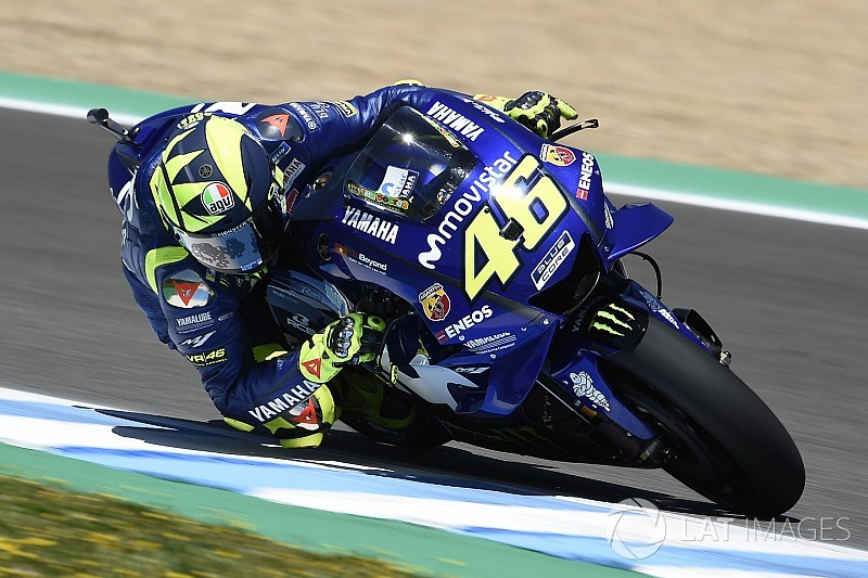 """Rossi: """"Yamaha normalmente funcionó bien en Francia"""""""