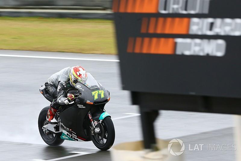 La pioggia rallenta l'avvio dei test di Moto2 e Moto3 a Valencia