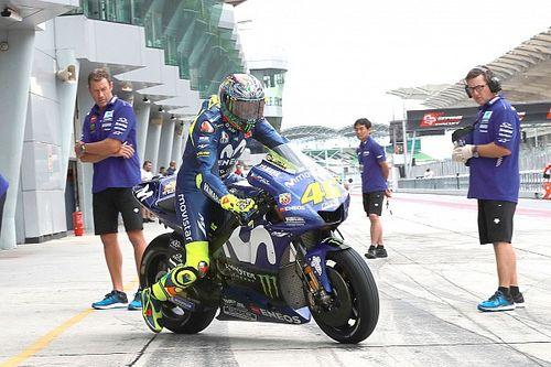 Yamaha in Sepang: Rossi scherzt über Vertragsverlängerung