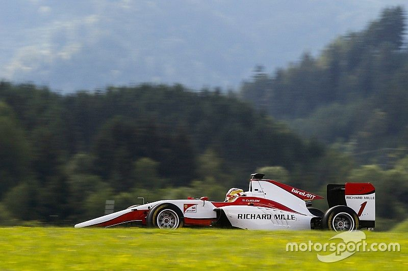 Red Bull Ring GP3: Leclerc dominates qualifying, leads ART 1-2-3-5