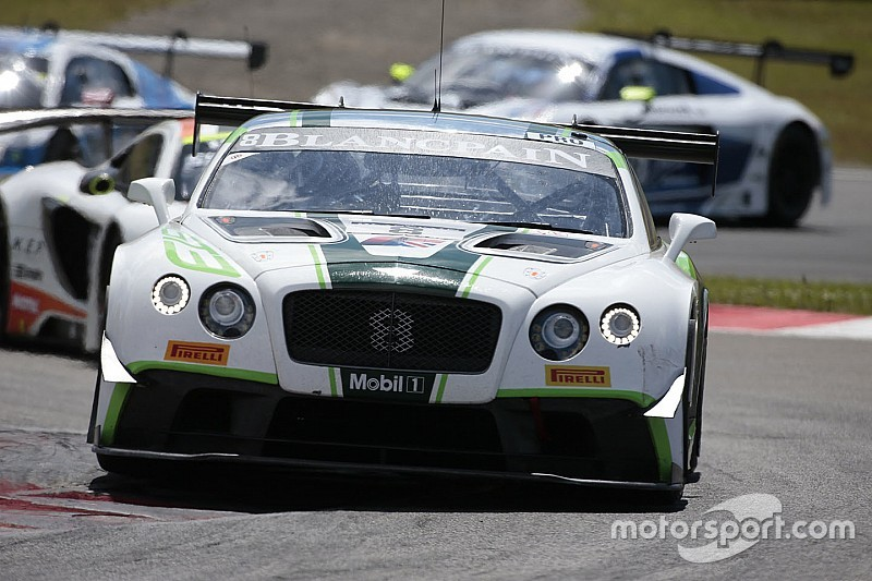 Bentley begins a new GT series season