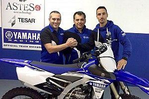 Presentato il Team ASTES4-TEASER Yamaha per l'Europeo Cross