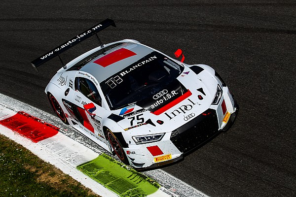 Edoardo Mortara joins Audi R8 LMS number 75 by I.S.R. Racing for the 24 Hours of Spa