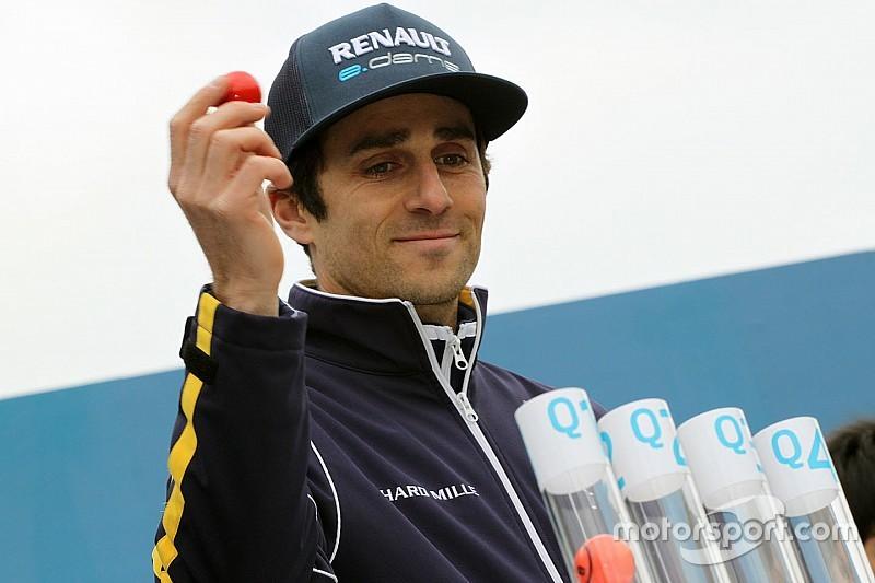 London ePrix: Prost on pole, rain catches out title contenders