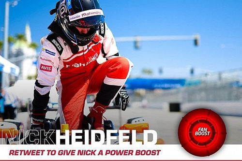 È Nick Heidfeld il leader provvisorio del FanBoost