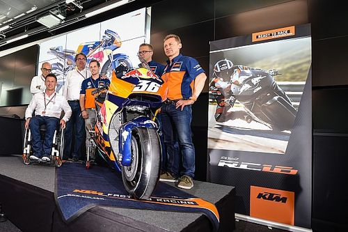 KTM officially launches 2017 MotoGP challenger