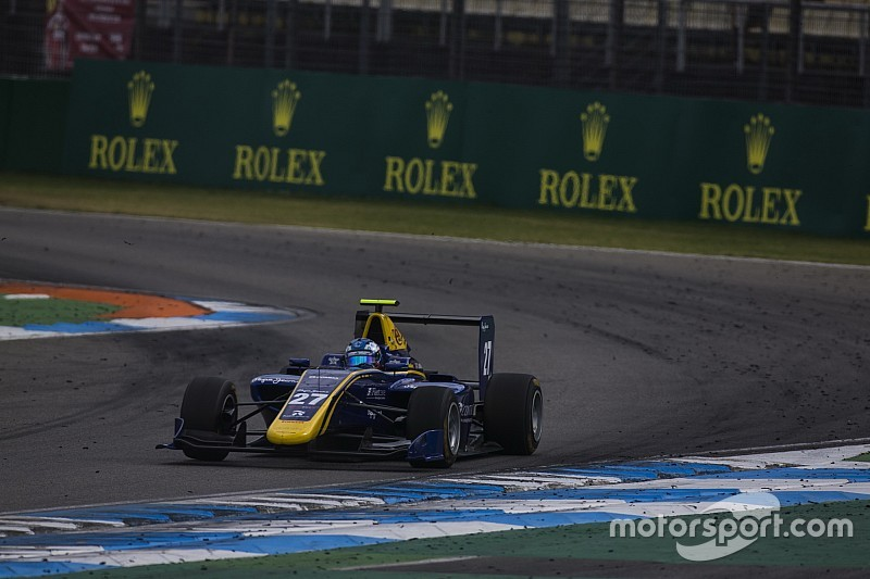 Hockenheim GP3: Hughes wins, Albon loses points lead after crash