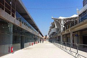 Galeria: o andamento das obras do paddock de Interlagos