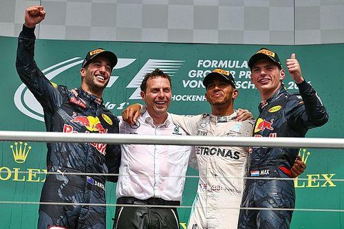 German GP: Hamilton wins, Rosberg penalised for Verstappen pass