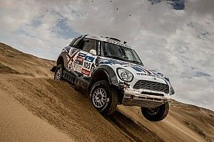 Four MINI ALL4 Racing crews complete demanding Silk Way Rally in top five