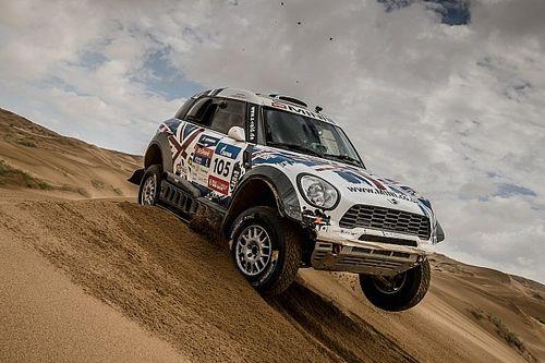 Four MINI ALL4 Racing crews complete demanding Silk Way Rally in top five