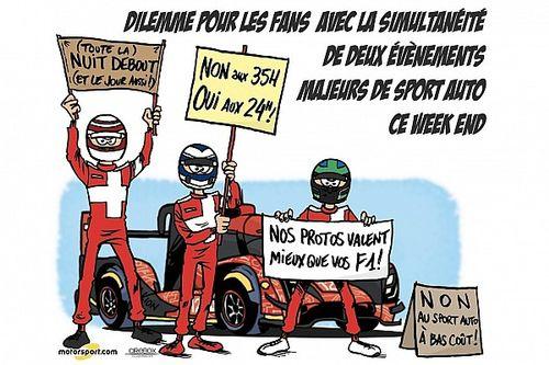 L'humeur de Cirebox - Le Mans/F1, le dilemme des fans de sport auto