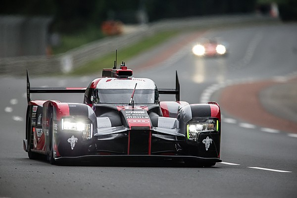 McNish impressed by Audi long-run pace on Le Mans test day