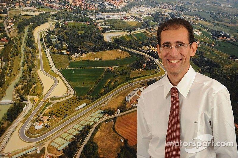 Walter Sciacca lascia l'autodromo di Imola