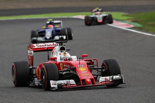 Vettel not downbeat despite missing podium
